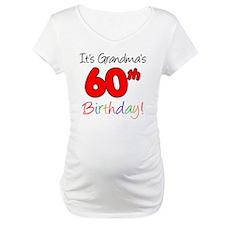 Its Grandmas 60th Birthday Shirt