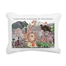 8575_africa_cartoon_wide Rectangular Canvas Pillow