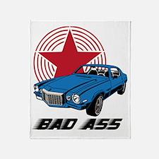 bad ass Throw Blanket