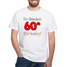 Its Grandpas 60th Birthday Shirt