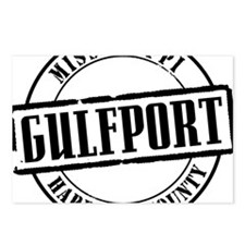 Gulfport Title W Postcards (Package of 8)