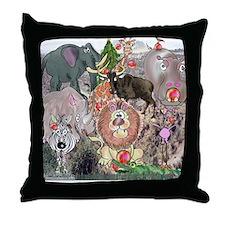 8575_africa_cartoon Throw Pillow