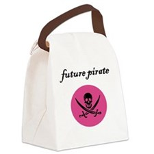 future pirate Canvas Lunch Bag