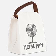 metal fanC Canvas Lunch Bag