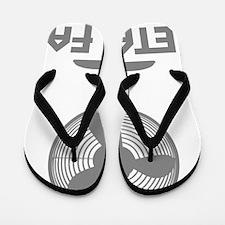 metal fanC Flip Flops