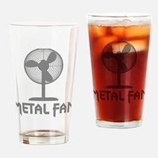 metal fanC Drinking Glass