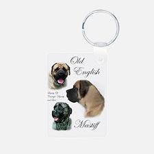 mastiff trio brushed 3 Keychains