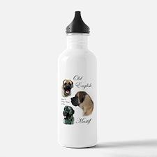 mastiff trio brushed 3 Water Bottle