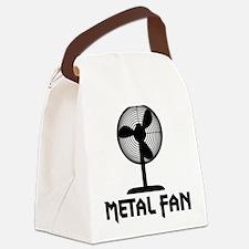 metal fanA Canvas Lunch Bag