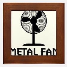 metal fanA Framed Tile