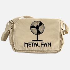 metal fanA Messenger Bag
