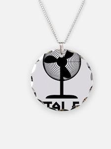 metal fanA Necklace