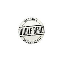 Sauble Beach Title W Mini Button