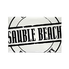 Sauble Beach Title W Rectangle Magnet