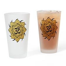 aum-gold Drinking Glass
