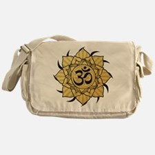 aum-gold Messenger Bag
