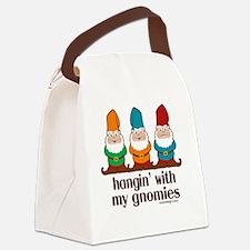 hanginwithmygnomiesBUTTON Canvas Lunch Bag