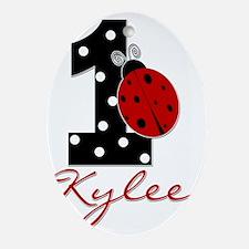 1_ladybug_KYLEE Oval Ornament