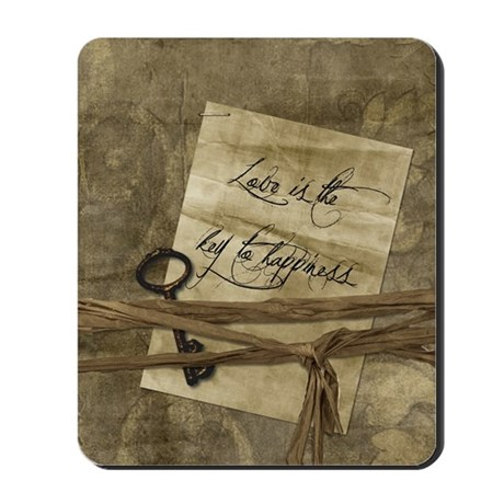 keytohappinessjournal Mousepad