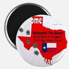 welcome_to_texas_the_lone_star_state_whitef Magnet
