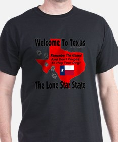 welcome_to_texas_the_lone_star_state_ T-Shirt