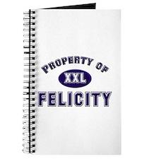 Property of felicity Journal