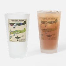 P-40_Co-Pilot_Back Drinking Glass
