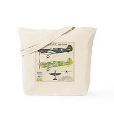 P-40_Co-Pilot_Back Tote Bag