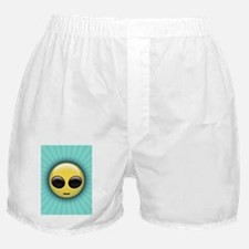 alien-smiley-CRD Boxer Shorts