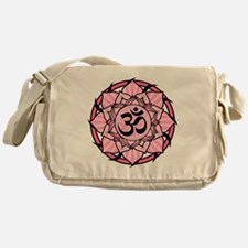 aum-pink Messenger Bag