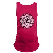 aum-pink Maternity Tank Top