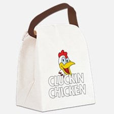 Cluckin Chicken Canvas Lunch Bag
