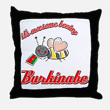 burkinabe-black Throw Pillow