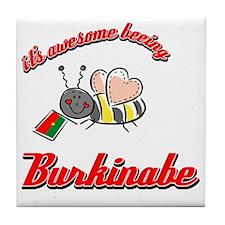 burkinabe-black Tile Coaster