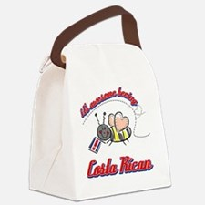 costarican-white Canvas Lunch Bag