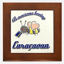 curacaon-black Framed Tile