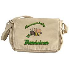dominican-black Messenger Bag