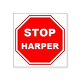 Anti harper Bumper Stickers
