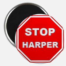 Stop Harper 001 Magnet