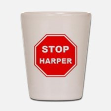 Stop Harper 001 Shot Glass