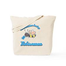 botswanan-black Tote Bag