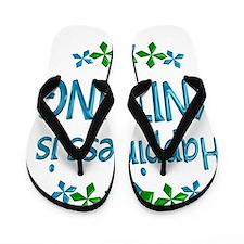KNITTING Flip Flops