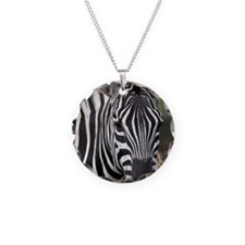 single zebra Necklace