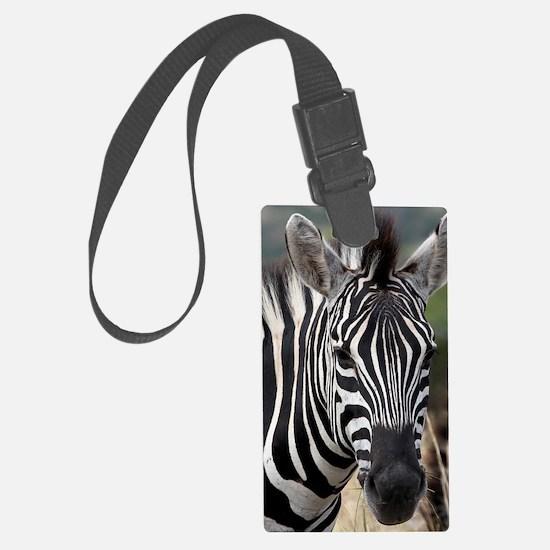 single zebra Luggage Tag