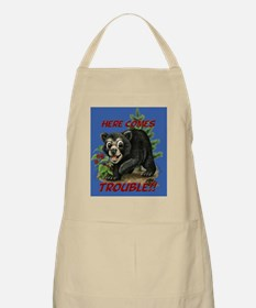 Here Comes Trouble Apron