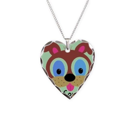 Animal Abuse Necklace Heart Charm