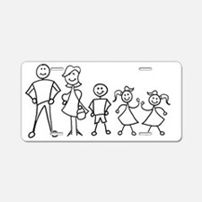 fam_MDBGG Aluminum License Plate