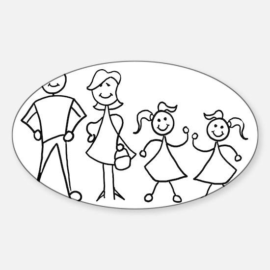 fam_MDGG Sticker (Oval)