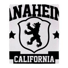 anaheim01 Throw Blanket