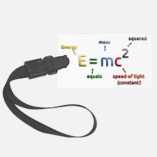 Mass-Energy_Equivalence_Formula_ Luggage Tag